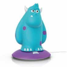 DISNEY Sulley lampka nocna led 1x1W