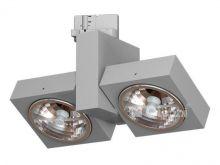 Aspen reflektor 2x100W G53 12V srebrny mat