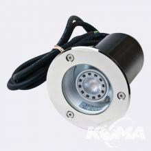 Rena stal nierdzewna GU10 LED 5.4W ze żródłem LED
