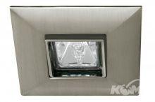 Quadro oprawa stropowa gu 5.3 1x35W żelazo szczotkowane