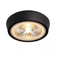 Charon lampa sufitowa  hermetyczna plafon 12W led 30° 3000K IP65 czarny mat