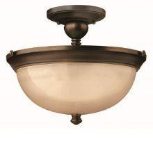 Mayflower  lampa sufitowa postarzany brąz 3x75W E27