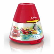 DISNEY Cars lampka nocna led 1x0,1w+3x0,3W