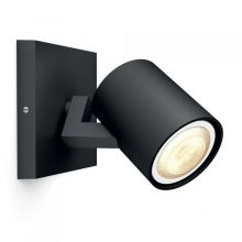 Runner Hue reflektor 1x50W GU10 230V czarny - bez ściemniacza
