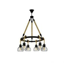 Rampside lampa wisząca 6x28W E27
