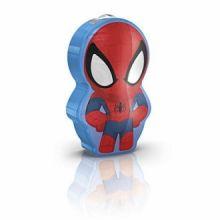 DISNEY Spiderman lampka nocna led 3x0,3W