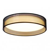 Adem lampa sufitowa czarna 1x18W LED 230V