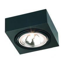 Rodos lampa sufitowa 1x48W G9 230V czarna