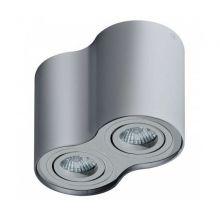 Bross 2 lampa sufitowa 2x50W GU10 230V szara