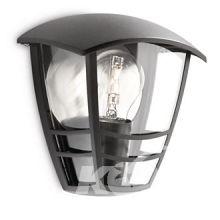 Creek wall lantern black 1x60W 230V kinkiet zewnetrzny czarny