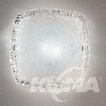 Syberia plafon 2xe27/60w transparentny