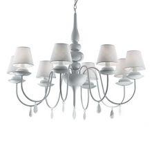 Blanche lampa wisząca 8x40W E14 230V biała