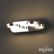 Porto kinkiet 60x0.1W LED 3000K 230V chrom