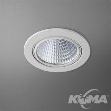 Eye oprawa wpuszczana łazienkowa biała (mat) LED 1x6.5W 230V