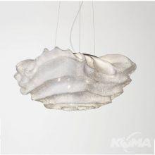Nevo_medium lampa wisząca średnia 3x8W led E27 BL biała