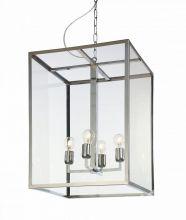 Vita l lampa wisząca 4x60W E27 45x45cm chrom