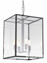 Vita l lampa wisząca 4x60W E27 45x45cm ciemny brąz