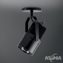 Zuma reflektor led 1x12W czarny mat
