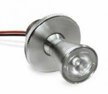 Apode 1 led 500 ma 1,5W power 10st IP40 nikiel, biala ciepla