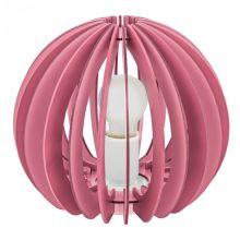 Fabella lampa stołowa 1x42W E27 230V różowa
