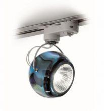Beluga colour reflektor na szyne 1x75W GU10 niebieski
