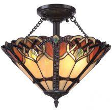 Cambridge lampa sufitowa 2x100W E27 230V