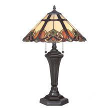Cambridge lampa stołowa 2x75W E27 230V