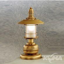Ancora lampka stołowa 1x28W E14 mosiądz patyna/klosz mat