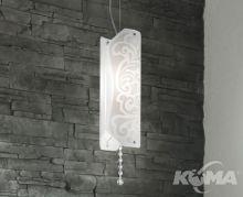 Charterhouse lampa wisząca 1x150W E27 biały     203005055202
