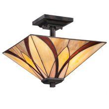 Asheville lampa sufitowa 2x100W E27 230V