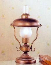 Mambo lampa stołowa 1x28W E27 ziemisty brąz/klosz mat