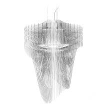 Aria lampa wisząca transparentna 35W LED 230V
