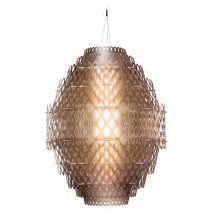 Charlotte lampa wisząca 1x140W LED pomarańczowa