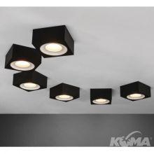Beep Care lampa sufitowa łazienkowa 6W LED 2700K 230V czarna/śnieżnobiała