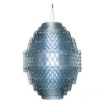 Charlotte lampa wisząca 1x140W LED niebieska