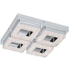 Fradelo lampa sufitowa 4x4W LED 230V chrom