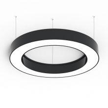 Alberta lampa wisząca 125cm 136.8W LED 230V czarna DIMM
