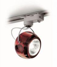 Beluga colour reflektor na szyne 1x75W GU10 czerwony