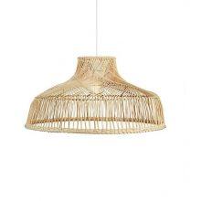 Bali lampa wisząca rattanowa 1x60W E27