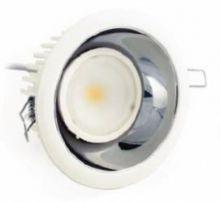 Blob chrome 1 led array 630 ma 26W power IP44 biala, biala ciepla