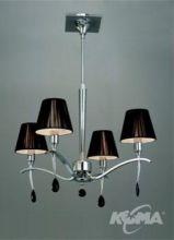 Viena lampa wisząca 4x60w/e14