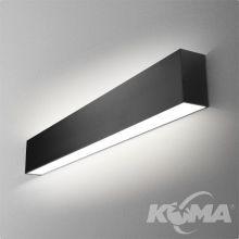 Set Tru kinkiet 57cm. 35.2W LED 230V czarny (mat)