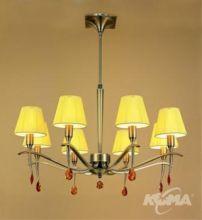 Viena lampa wisząca 8x60w/e14