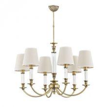 Napoli żyrandol lampa wisząca 6x40W E14 230V patyna / bez abażura
