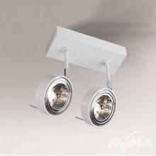 Fussa reflektor natynkowy biały 2x15W ES111