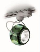 Beluga colour reflektor na szyne 1x75W GU10 zielony