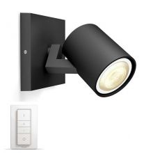 Runner Hue reflektor 1x50W GU10 230V czarny + ściemniacz