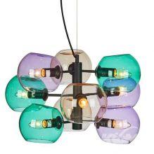 Soap lampa wisząca multikolor 9x40W E14 230V