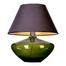 Madrid Green lampa stołowa 1x60W E27 230V zielony/czarno-złoty