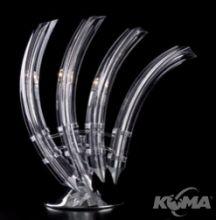 Emma lampa stolowa 3x20W G4 chrom